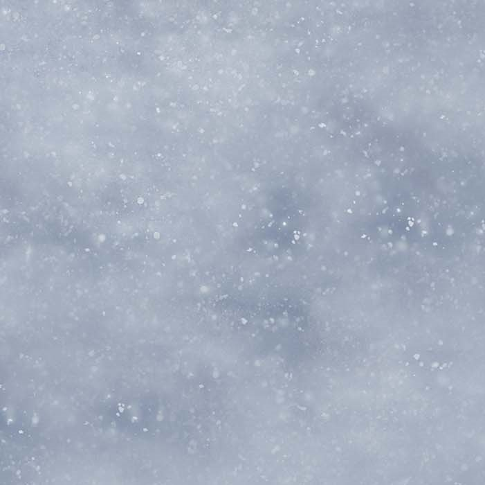 Naturescapes Silver Moon - Snowy Sky in Blue by James Meger for Northcott