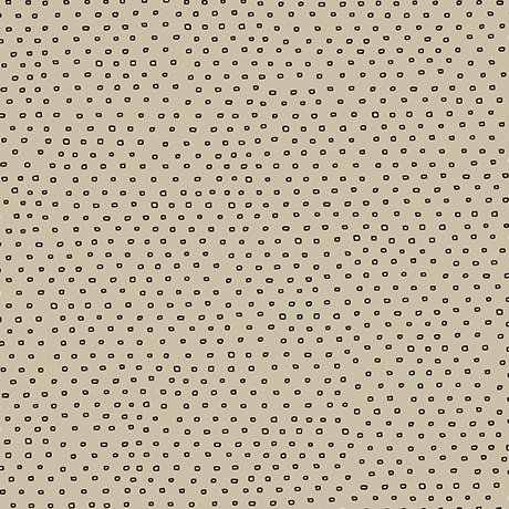 Pixie - Square Dot Blender in Dark Khaki by Alicia Jacobs Dujets for Ink & Arrow