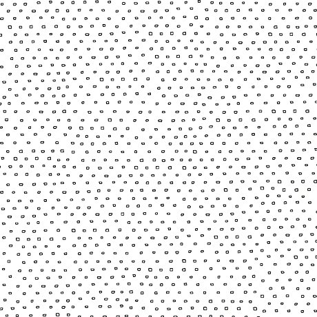 Pixie - Square Dot Blender in White by Alicia Jacobs Dujets for Ink & Arrow