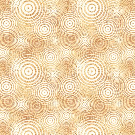 Good Vibrations - Soundwaves in Tan by Dan Morris for Quilting Treasures