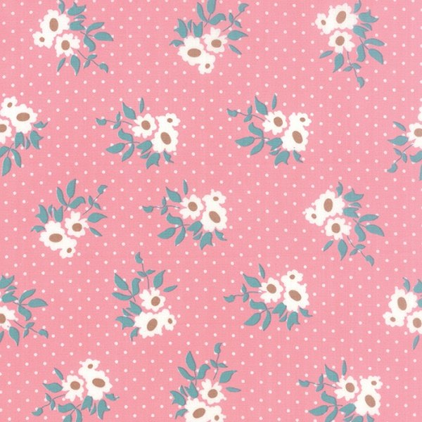 Kindred Spirits - Medium Floral on Rose by Bunny Hill Designs for Moda