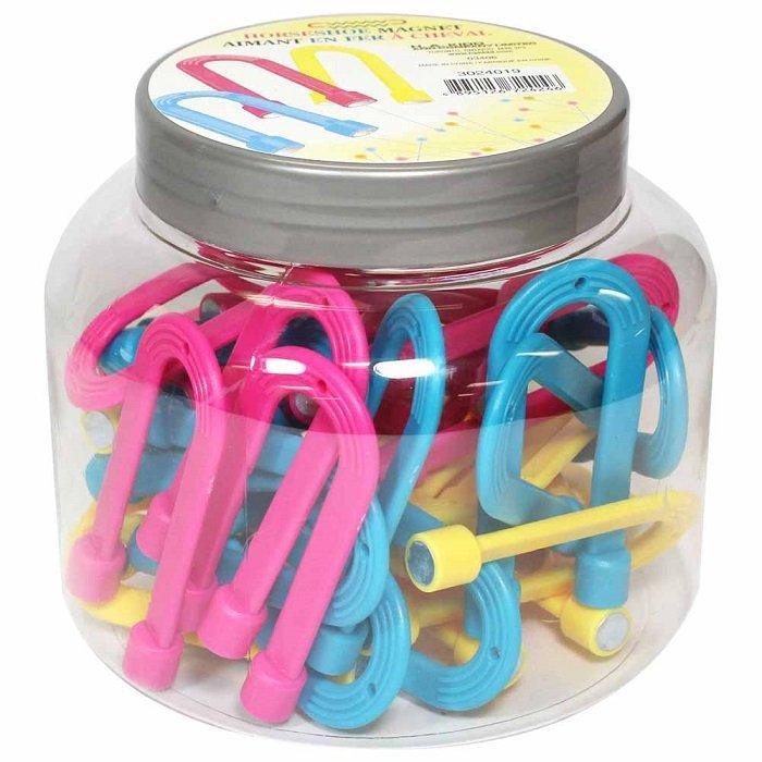 Horseshoe Magnet (assorted colours) by Unique