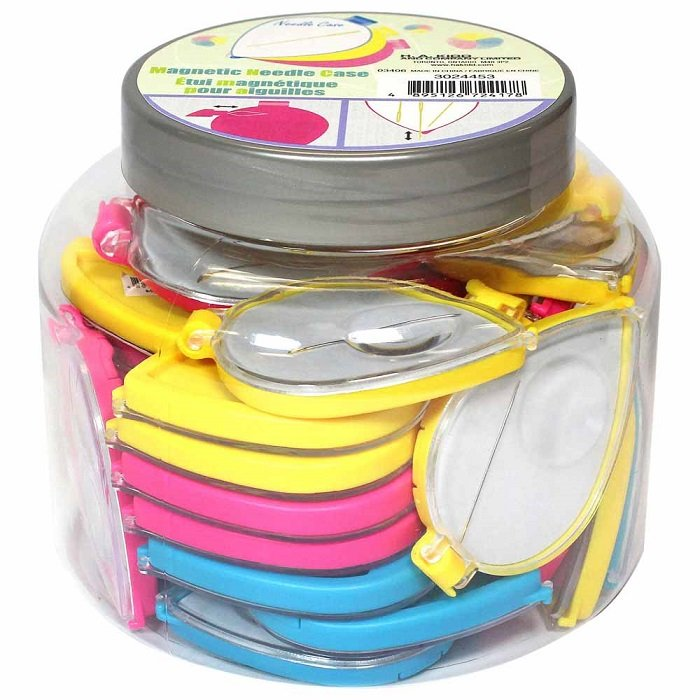 Magnetic Needle Case (assorted colours) by Sew Tasty