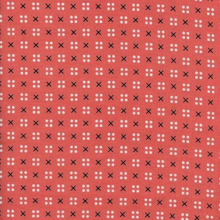 Penny Arcade - X Dot in Pink by Kim Kight for Cotton + Steel