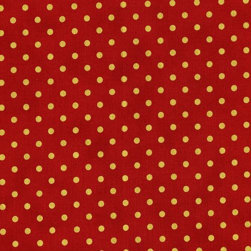 Shiny Objects Holiday Twinkle - Spot On in Candied Apple by Flaurie & Finch for RJR Fabrics