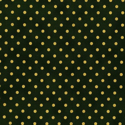 Shiny Objects Holiday Twinkle - Spot On in Tannenbaum by Flaurie & Finch for RJR Fabrics