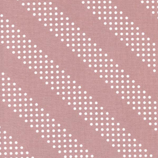 Cotton + Steel Basics - Diagonal Dots in Rosewater by Cotton + Steel