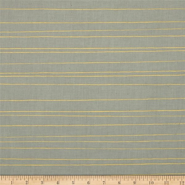 Cozy - Pencil Stripes in Grey by Melody Miller for Cotton + Steel