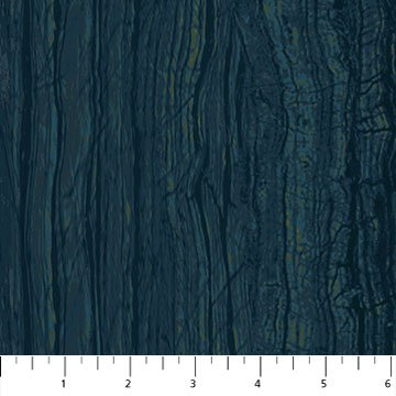 Stonehenge Elements - Wood Grain in Blue Planet by Northcott