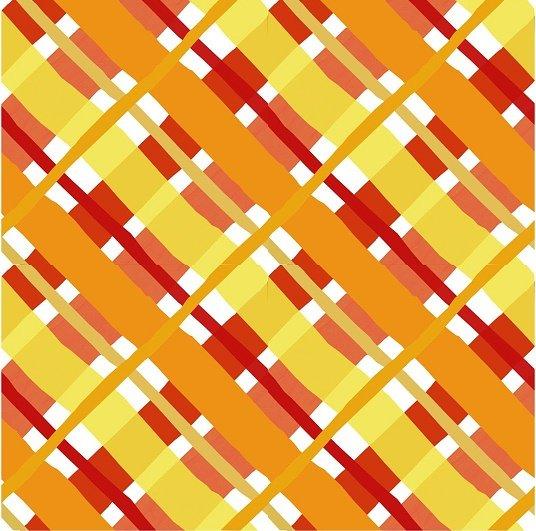 ABC Animals Flannel - Basketweave in Orange by Jennifer Heynen for In the Beginning Fabrics