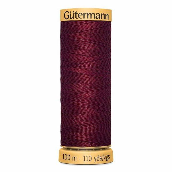 Gutermann Cotton 50wt Thread 100 m - Burgundy (4780)