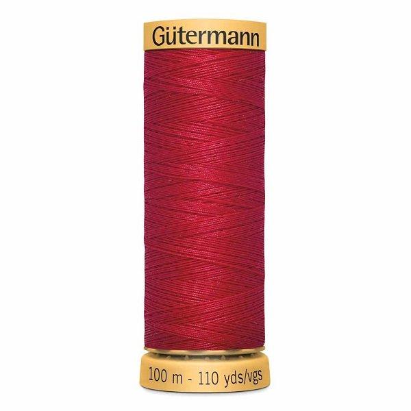 Gutermann Cotton 50wt Thread 100 m - Bright Red (4880)