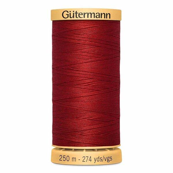 Gutermann Cotton 50wt Thread 250 m - Ruby Red (4780)