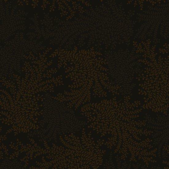 Cinnamon Toast III - Vines in Brown by Studio e Fabrics