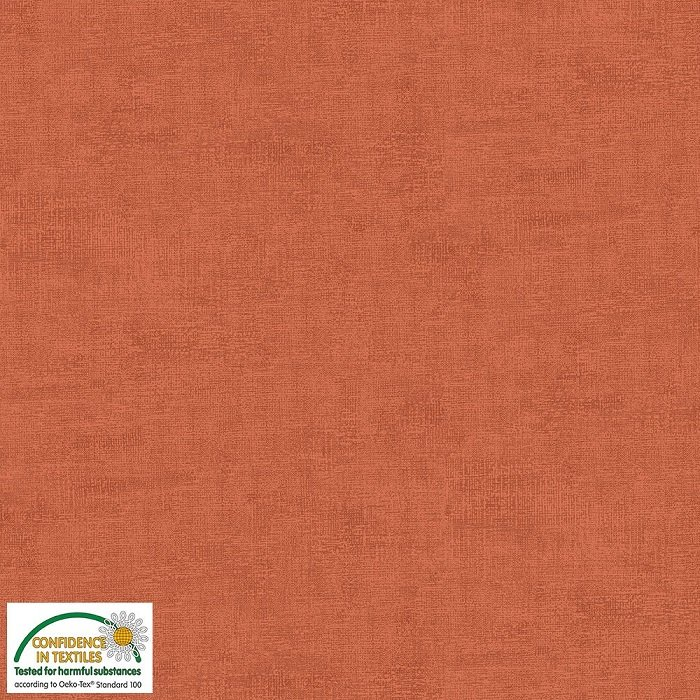 Melange - Texture in Dark Terracotta by Stof