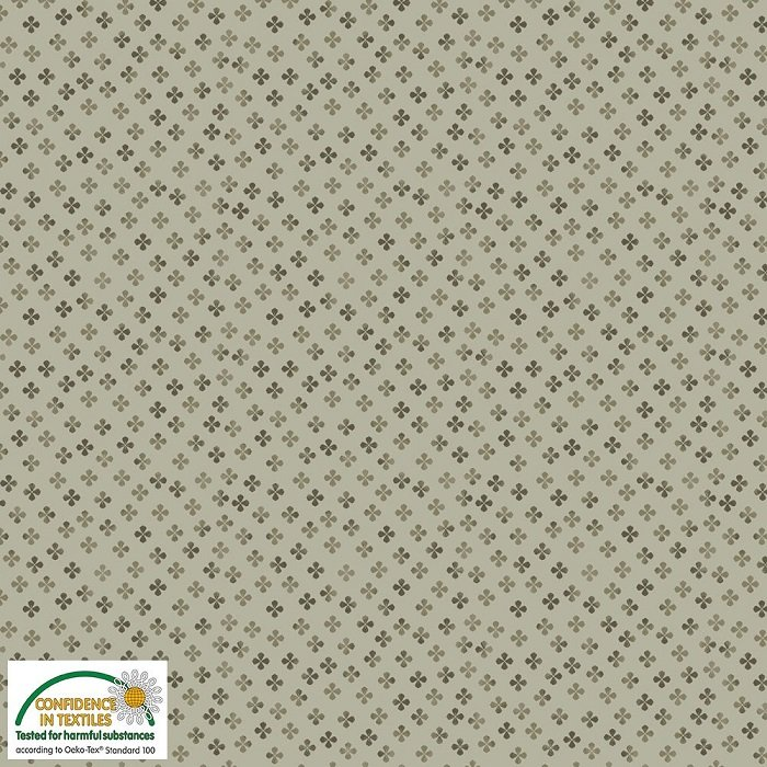 Gradiente - Clover on Olive by Stof