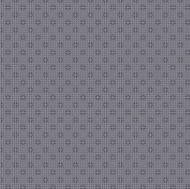 Quilters Combination - Dotted Grid in Grey by Stof