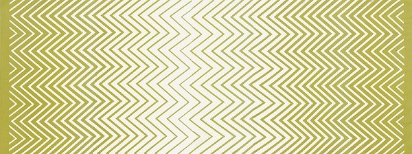 Simply Colorful II - Zig Zag Ombre in Chartreuse by V & Co for Moda