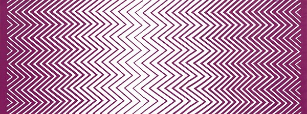 Simply Colorful II - Zig Zag Ombre in Berry by V & Co for Moda