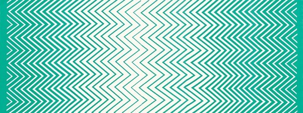 Simply Colorful II - Zig Zag Ombre in Teal by V & Co for Moda