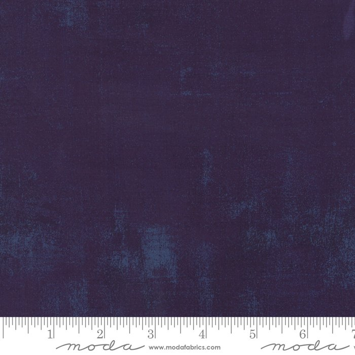 Grunge Quilt Back (108 wide) in Eggplant by BasicGrey for Moda
