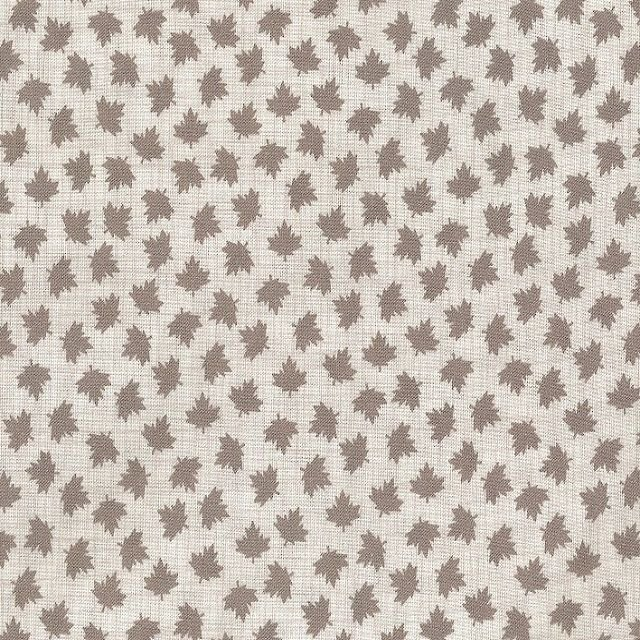 True North - Maple Leaves in Grey by Kate & Birdie Paper Co. for Moda