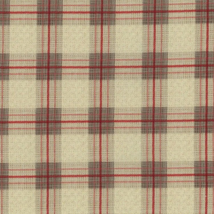 True North 2 - Plaid in Linen by Kate & Birdie Paper Co. for Moda