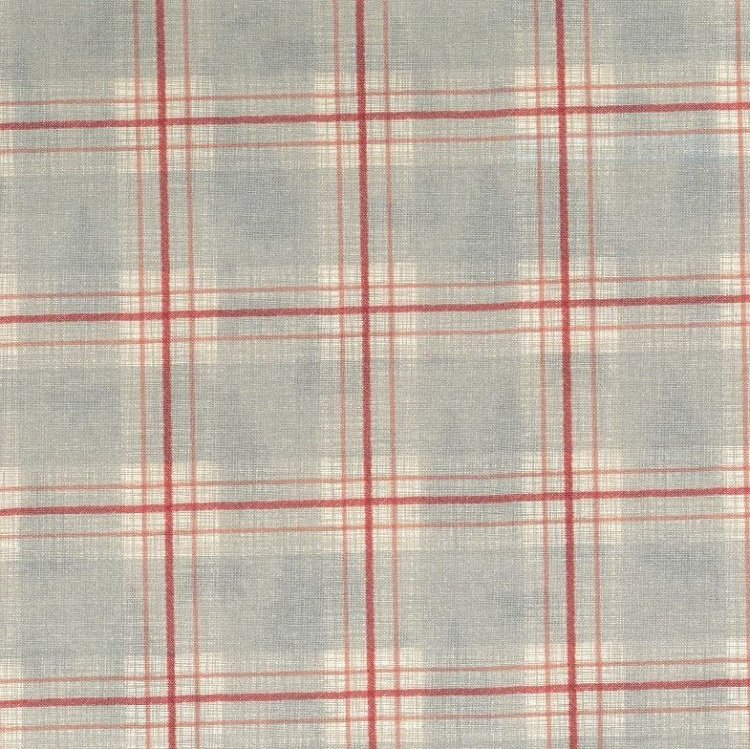 True North 2 - Plaid in Linen / Grey by Kate & Birdie Paper Co. for Moda