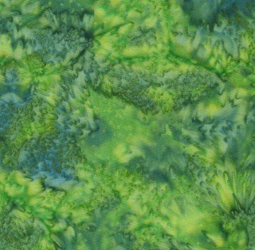 Batik Blender in Green by Batik Textiles