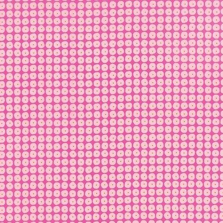 Flow - Pearls in Raspberry by Zen Chic for Moda