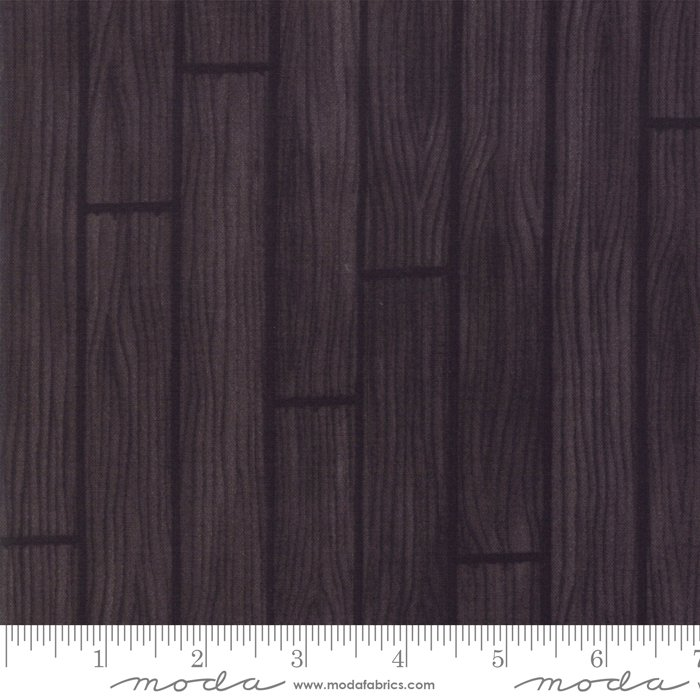Holiday Lodge - Barnwood in Charcoal by Deb Strain for Moda