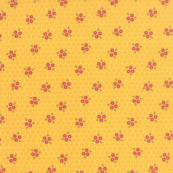 Meadowbloom - Daisy Bouquet in Daisy by April Rosenthal for Moda