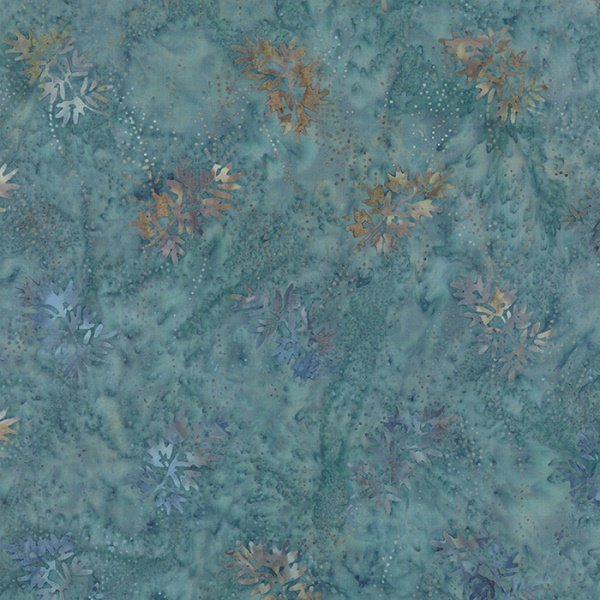 Blue Barn Batik - Snow Angels in Twilight by Laundry Basket Quilts for Moda