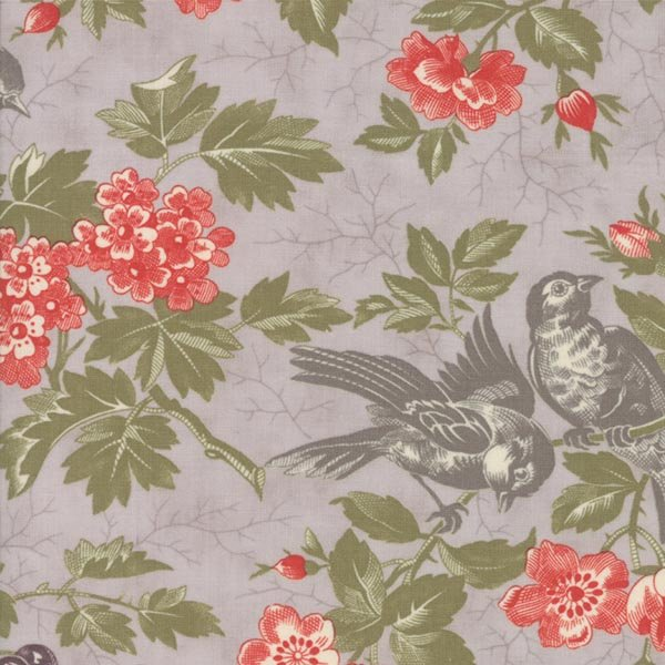 Quill - Bird Toile in Feather by 3 Sisters for Moda