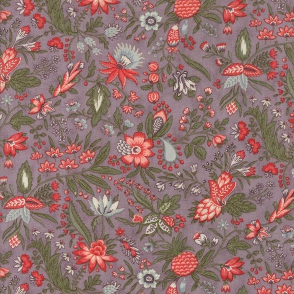 Quill - Flourish Floral in Mauve by 3 Sisters for Moda