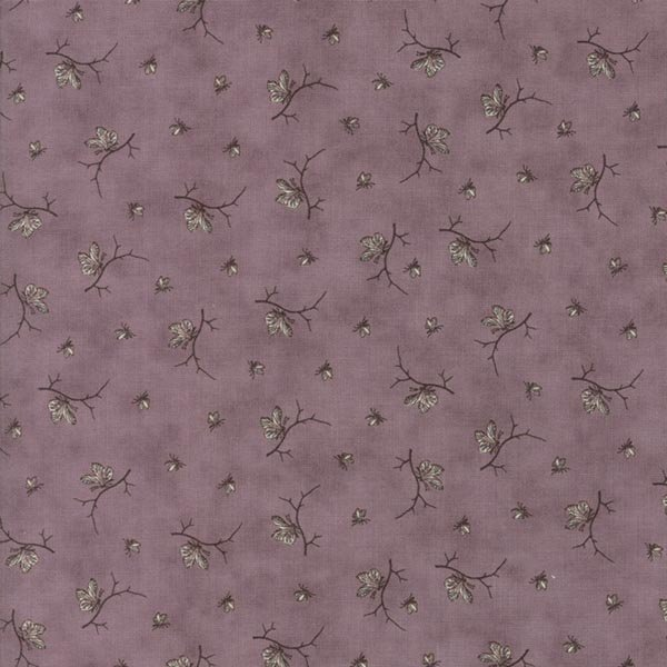 Quill - Butterflies in Mauve by 3 Sisters for Moda