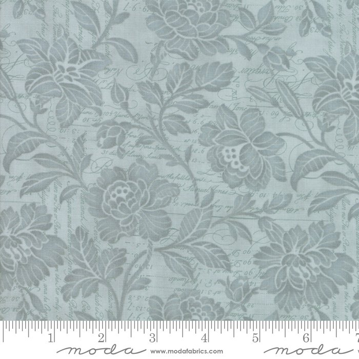 Memoirs - Flourish Script in Patina by 3 Sisters for Moda