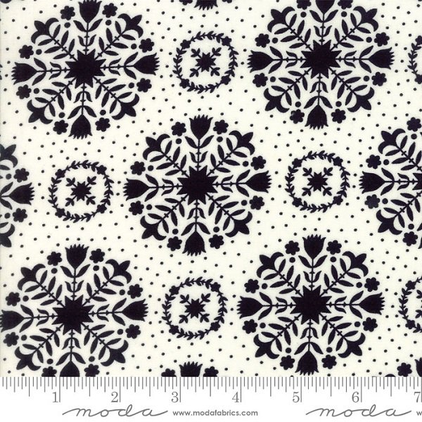 Handmade - Olivia in Black on Cream by Bonnie & Camille for Moda