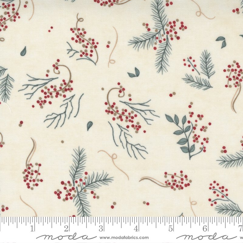 Warm Winter Wishes - Warm Wishes in Snowflake by Holly Taylor for Moda