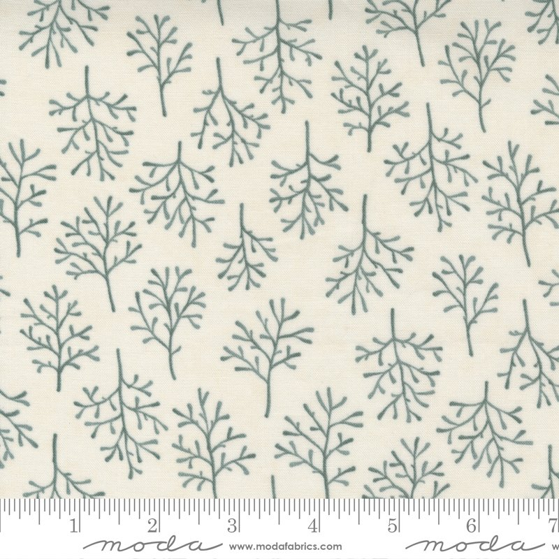 Warm Winter Wishes - Winter Trees in Snowflake by Holly Taylor for Moda