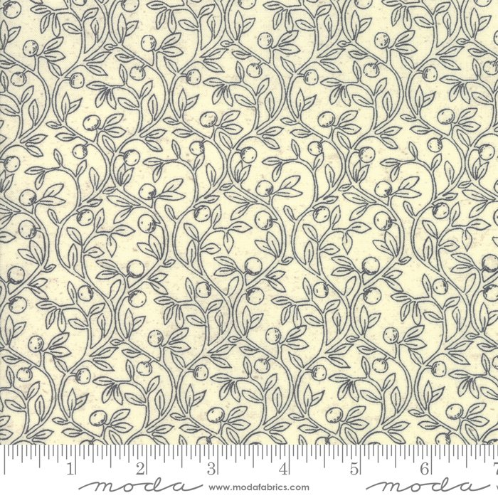 Home - Fruitful Vine in Cream by Kathy Schmitz for Moda