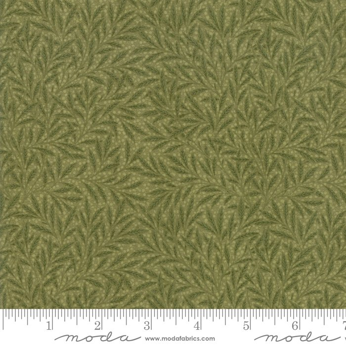 Morris Garden - Willow 1874 in Sage by V and A Reproduction for Moda