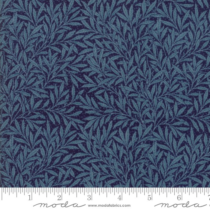 Morris Garden - Willow 1874 in Indigo by V and A Reproduction for Moda