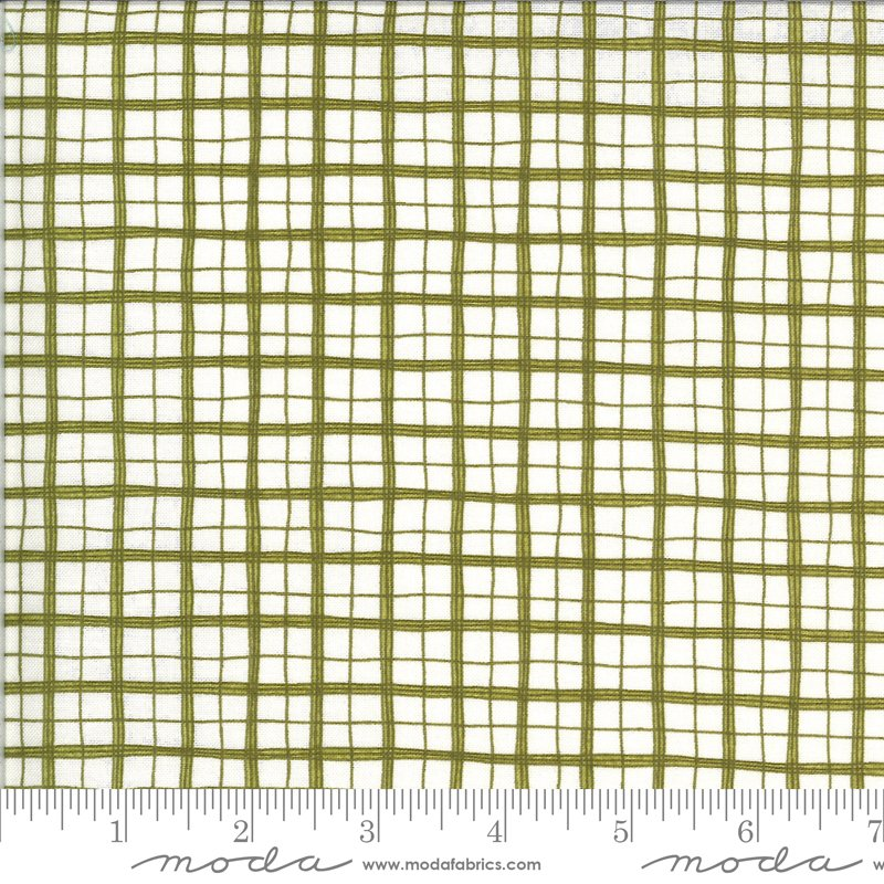 Animal Crackers - Plaid in Pickle by Sweetwater for Moda