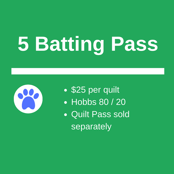 5 Batting Pass Sale ~ $25 Each