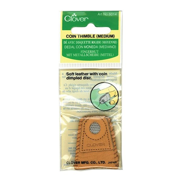 Coin Thimble in Medium Size by Clover