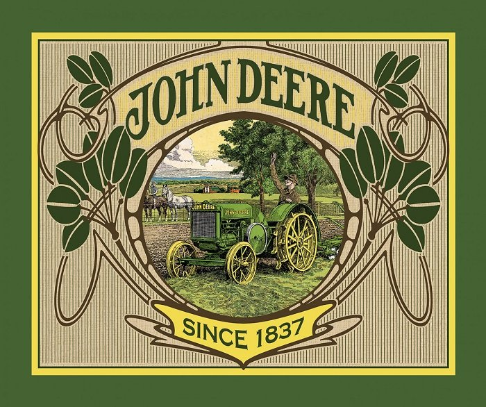 Panel - John Deere Collection (43 x 36) by Springs Creative