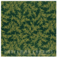 Snowy Peak - Branches in Evergreen / Gold by Hoffman