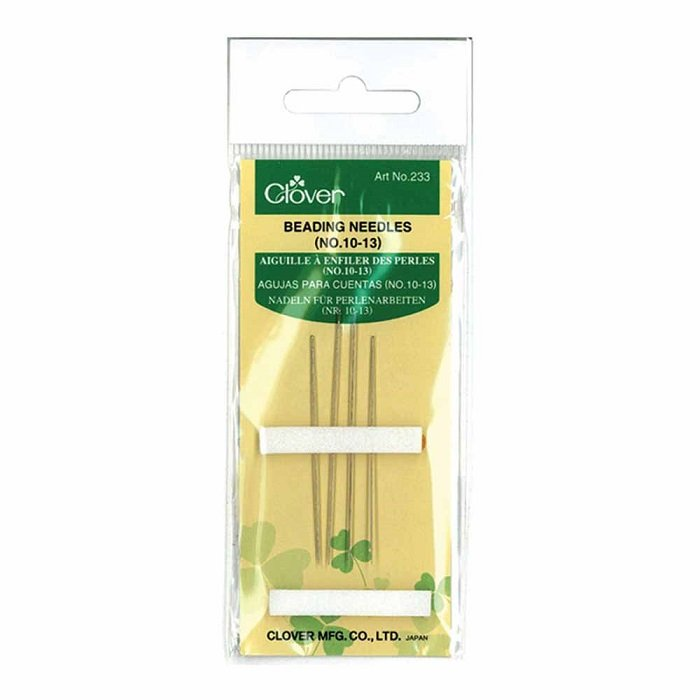 Beading Needles Sizes 10-13 (4 count) by Clover