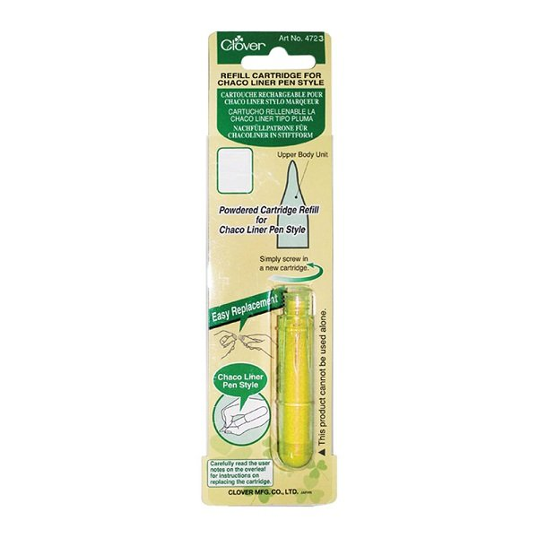 Pen Style Chaco Liner Refill in Yellow by Clover